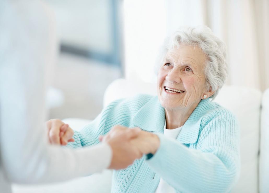 Higiene en personas mayores encamadas